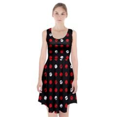 Polka dots  Racerback Midi Dress