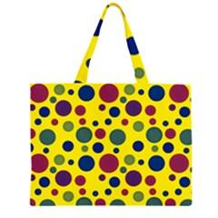 Polka dots Large Tote Bag