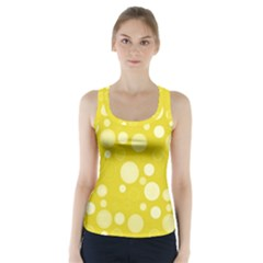 Polka dots Racer Back Sports Top
