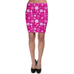 Polka Dots Bodycon Skirt
