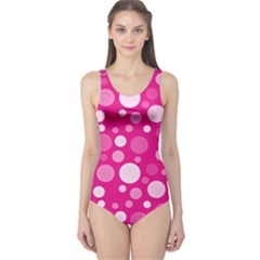 Polka dots One Piece Swimsuit