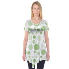 Polka dots Short Sleeve Tunic