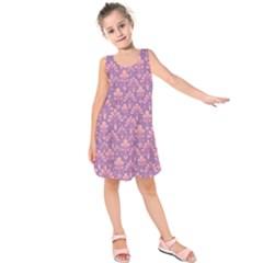 Pattern Kids  Sleeveless Dress