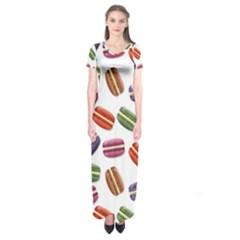 Macaroons  Short Sleeve Maxi Dress