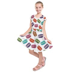 Macaroons  Kids  Short Sleeve Dress