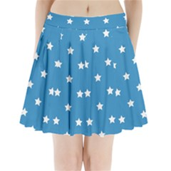 Stars pattern Pleated Mini Skirt