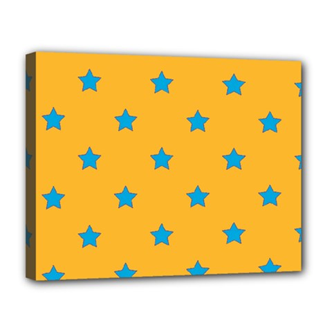 Stars pattern Canvas 14  x 11