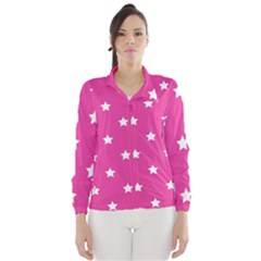 Stars pattern Wind Breaker (Women)