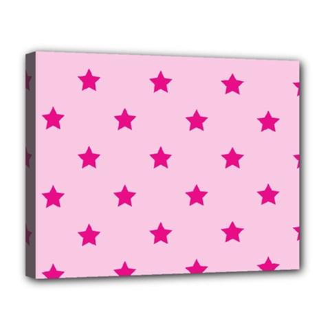 Stars pattern Canvas 14  x 11