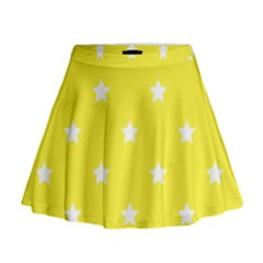 Stars pattern Mini Flare Skirt