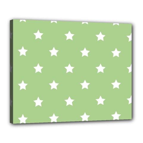 Stars pattern Canvas 20  x 16