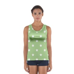 Stars pattern Women s Sport Tank Top