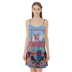 No parking  Satin Night Slip