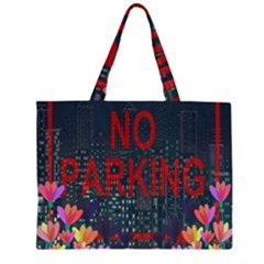 No parking  Large Tote Bag
