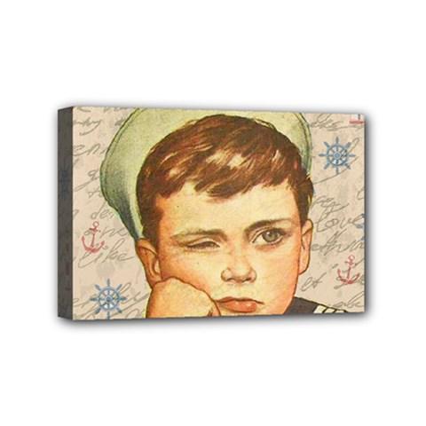 Little sailor  Mini Canvas 6  x 4