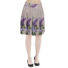 Vintage lilac Pleated Skirt