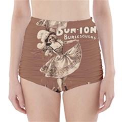 Bon-ton High-Waisted Bikini Bottoms