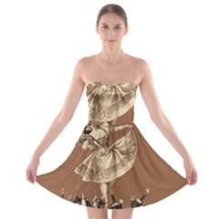 Bon-ton Strapless Bra Top Dress