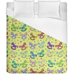 Toys pattern Duvet Cover (California King Size)