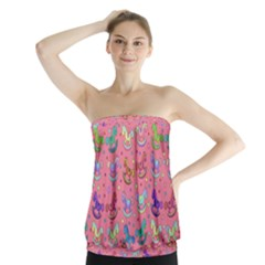 Toys pattern Strapless Top