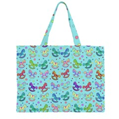 Toys pattern Large Tote Bag
