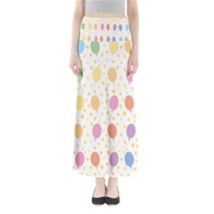 Balloon Star Rainbow Maxi Skirts