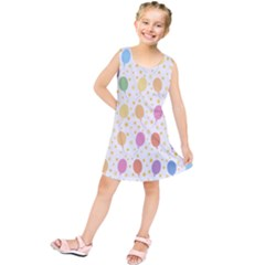 Balloon Star Rainbow Kids  Tunic Dress