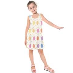 Balloon Star Rainbow Kids  Sleeveless Dress