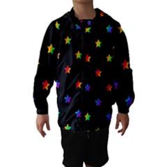 Stars pattern Hooded Wind Breaker (Kids)