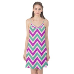 Zig zags pattern Camis Nightgown