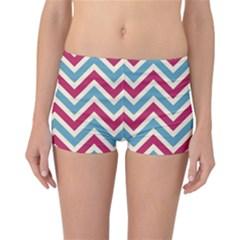 Zig zags pattern Reversible Bikini Bottoms
