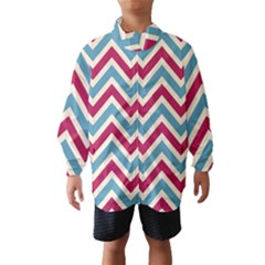 Zig zags pattern Wind Breaker (Kids)