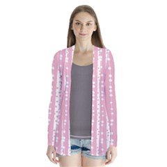 Heart Love Valentine Polka Dot Pink Blue Grey Purple Red Cardigans