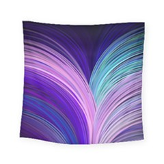 Color Purple Blue Pink Square Tapestry (small)