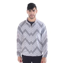 Zig zags pattern Wind Breaker (Men)