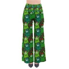 Seamless Little Cartoon Men Tiling Pattern Pants