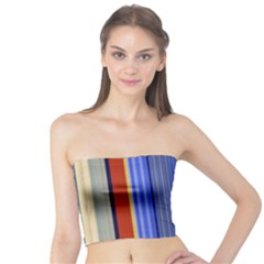 Colorful Stripes Background Tube Top
