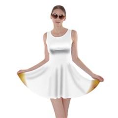 Circle Fractal Frame Skater Dress