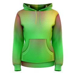 November Blurry Brilliant Colors Women s Pullover Hoodie