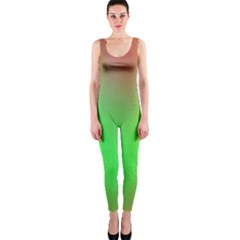 November Blurry Brilliant Colors OnePiece Catsuit