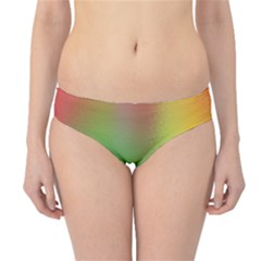 November Blurry Brilliant Colors Hipster Bikini Bottoms