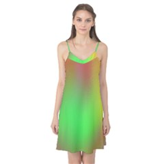 November Blurry Brilliant Colors Camis Nightgown
