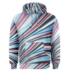 Wavy Stripes Background Men s Pullover Hoodie