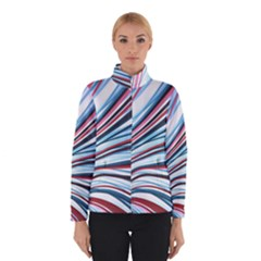Wavy Stripes Background Winterwear