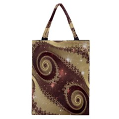 Space Fractal Abstraction Digital Computer Graphic Classic Tote Bag