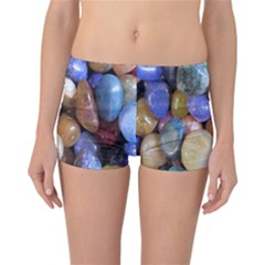 Rock Tumbler Used To Polish A Collection Of Small Colorful Pebbles Reversible Bikini Bottoms