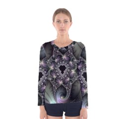 Magic Swirl Women s Long Sleeve Tee