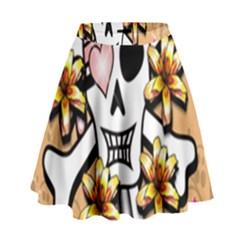 Banner Header Tapete High Waist Skirt