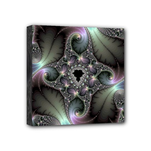 Precious Spiral Wallpaper Mini Canvas 4  X 4