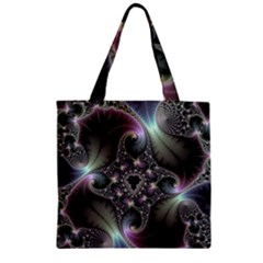 Precious Spiral Wallpaper Zipper Grocery Tote Bag